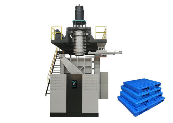 China Extrusion Blow Molding Plastic Pallet Machine For Different Sizes Pallet 55 Ton Weight supplier