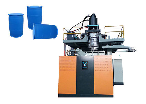 China 9 * 5.5 * 6m Automatic Blow Moulding Machine For 220L Chemical Drum / IBC Tank distributor