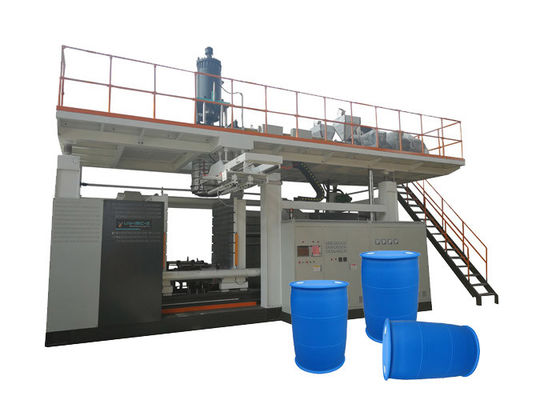 China 220L Chemical Drum Automatic Blow Moulding Machine Custom Layers Easy Operating factory